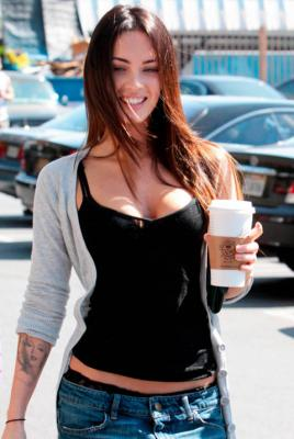 Megan Fox coffee